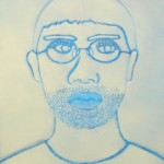 self portrait 73×60cm 2007
