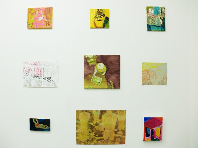 daily works installation view1