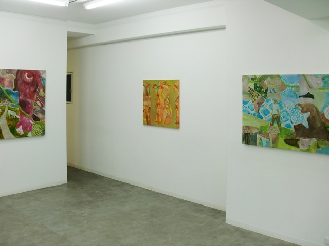daily works installation view2