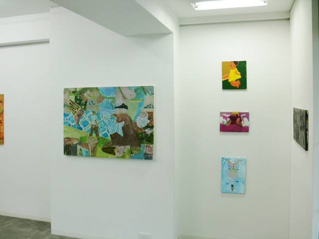 daily works installation view6