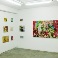 daily works installation view8