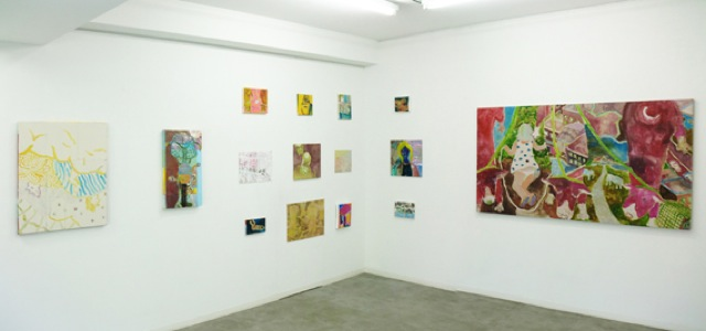 daily works installation view9